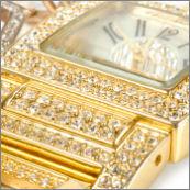 Jewelry set, ring, watch, earrings